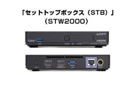 auひかりTVのセットトップボックス